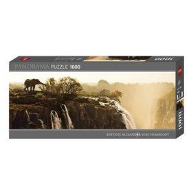 Puzzle 1000 piezas, Elephant (Panorama)