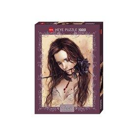 Puzzle 1000 piezas, Dark Rose