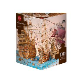 Puzzle 1000 piezas, Corsair, Ruyer (Triangular)