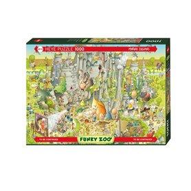 Puzzle 1000 piezas, Jurassic Habitat