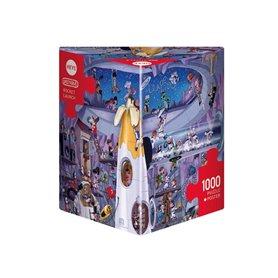 Puzzle 1000 piezas, Rocket Launch, Oesterle (Triangular)
