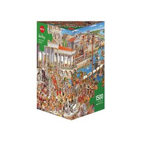 Puzzle 1500 piezas, Ancient Rome, Prades (Triangular)