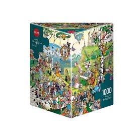 Puzzle 1000 piezas, Picnic, Calligaro (Triangular)