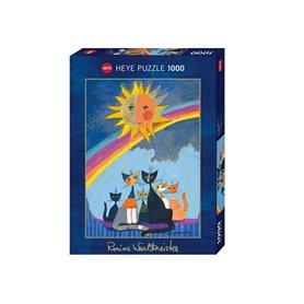 Puzzle 1000 piezas, Gold Rain