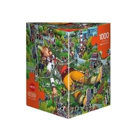 Puzzle 1000 piezas, Gullivert, Oesterle (Triangular)
