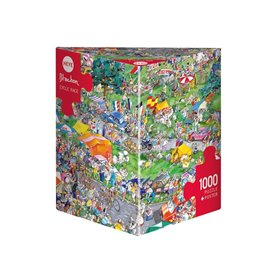 Puzzle 1000 piezas, Cycle Race Blachon (Triangular)