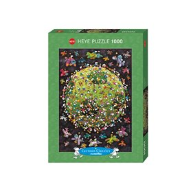 Puzzle 1000 piezas Football, Mordillo