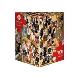 Puzzle 1000, Black or White, Degano (Triangular)