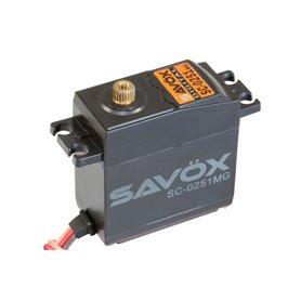 SERVO SAVOX SC-0251MG STANDARD 16KG / 018S