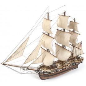 Barco de madera Essex 1:60 Occre con Velas