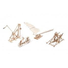 Pack 4 inventos de máquinas Da Vinci Occre