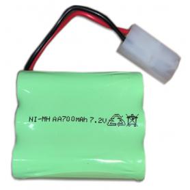 Batería Ni-Mh 7,2V 700mAh