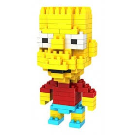 Bart Simpson X-Block (189pz-8mm)