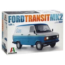 Maqueta Furgoneta Italeri FORD TRANSIT MK2 1/24