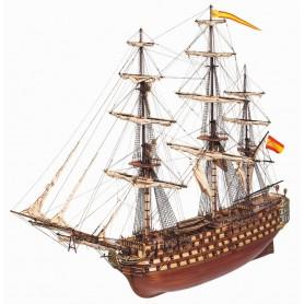 Barco de Madera Navío Occre SANTÍSIMA TRINIDAD 1/90