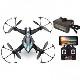 Pack Dron RC Z1W 40Km/h con Cámara Wifi y Gafas FPV