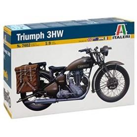 Maqueta Moto Militar Italeri TRIUMPH 3HW 1/9