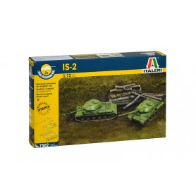 Kit 2 Maquetas Tanque Italeri IS-2 1/72