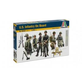Kit 10 Soldados Infantería Estados Unidos Italeri 1/35