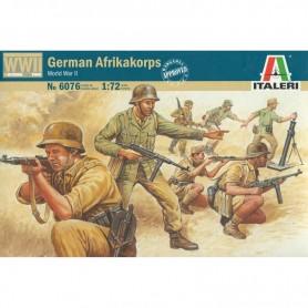 Kit 50 Soldados Alemanes 'AfricaKorps' Italeri 1/72