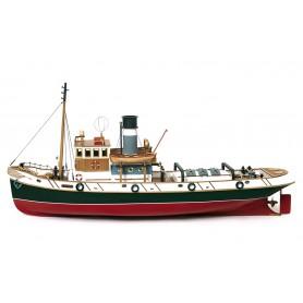 Barco de Madera Remolcador Occre ULISES 1/30