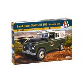 Maqueta Coche Italeri Land Rover Serie III 109 (Guardia Civil) 1/35