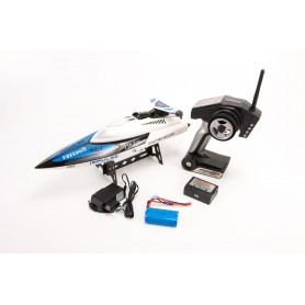 Lancha RC Wltoys TIGER SHARK 29Km/h (Brushed)