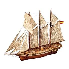 Barco Goleta De Velacho Cala Esmeralda - OCCRE