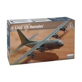 Maqueta Avión Militar Italeri Aircraft C-130J C5 HERCULES 1/48