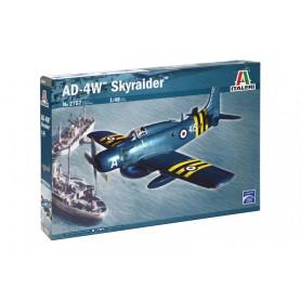 Maqueta Avión Militar Italeri Aircraft AD-4W SKYRAIDER 1/72