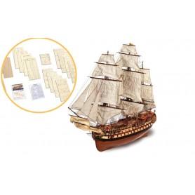Fascículo 1 Barco de madera Occre MONTAÑÉS