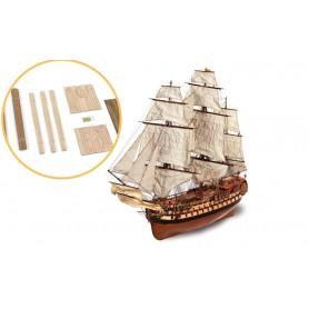 Fascículo 2 Barco de madera Occre MONTAÑÉS