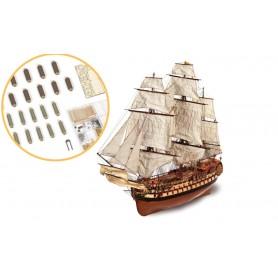 Fascículo 4 Barco de madera Occre MONTAÑÉS