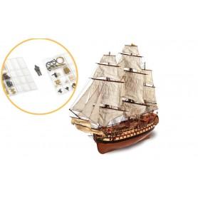 Fascículo 5 Barco de madera Occre MONTAÑÉS