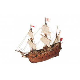 Barco de madera Galeón Occre SAN MARTÍN 1/90