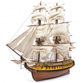 Barco Fragata Occre NUESTRA SEÑORA MERCEDES 1/85