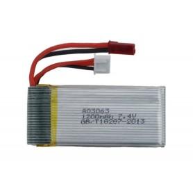 Batería Lipo 7,4V 1200mAh (BEC)