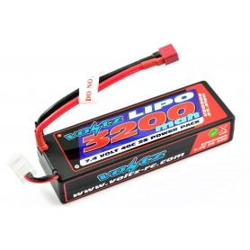 Batería Lipo Voltz 7,4V 3200mAh 40C Hardcase (T-Dean)