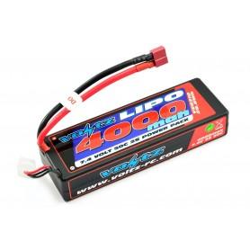 Batería Lipo Voltz 7,4V 4000mAh 50C Hardcase (T-Dean)