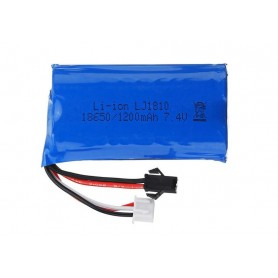 Batería LiPO 7,4V 1200mAh (JST SM)