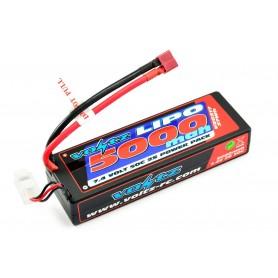 Batería Lipo Voltz 7,4V 5000mAh 50C Hardcase (T-Dean)
