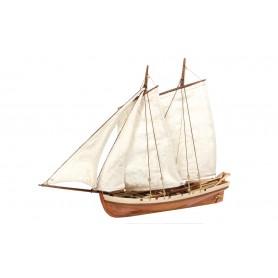 Bote Auxiliar Barco de Madera Occre BOUNTY 1/24