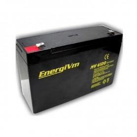 Batería de plomo 6V 12A