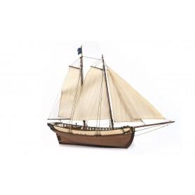 Barco de Madera Occre POLARIS 1/50 (con velas)