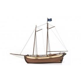 Barco de Madera Occre POLARIS 1/50 (sin velas)