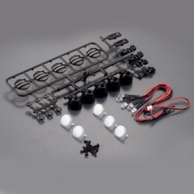 Kit 4 luces LED Fastrax para coches Crawler RC