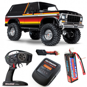 Pack Traxxas TRX-4 Ford Bronco Sunset con 3 accesorios