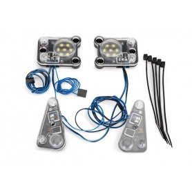 Kit luces LED delanteras y traseras Traxxas TRX-4