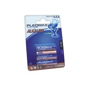 Kit 4 Pilas alcalinas PLEOMAX LR03 (AAA)