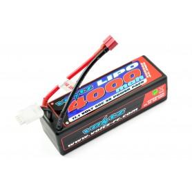 Batería LiPO Voltz 11,1V-4000mAh 50C Hardcase (T-Dean)